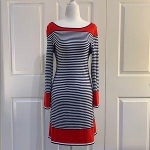 Sail To Sable Nautical sweater Dress sz S
